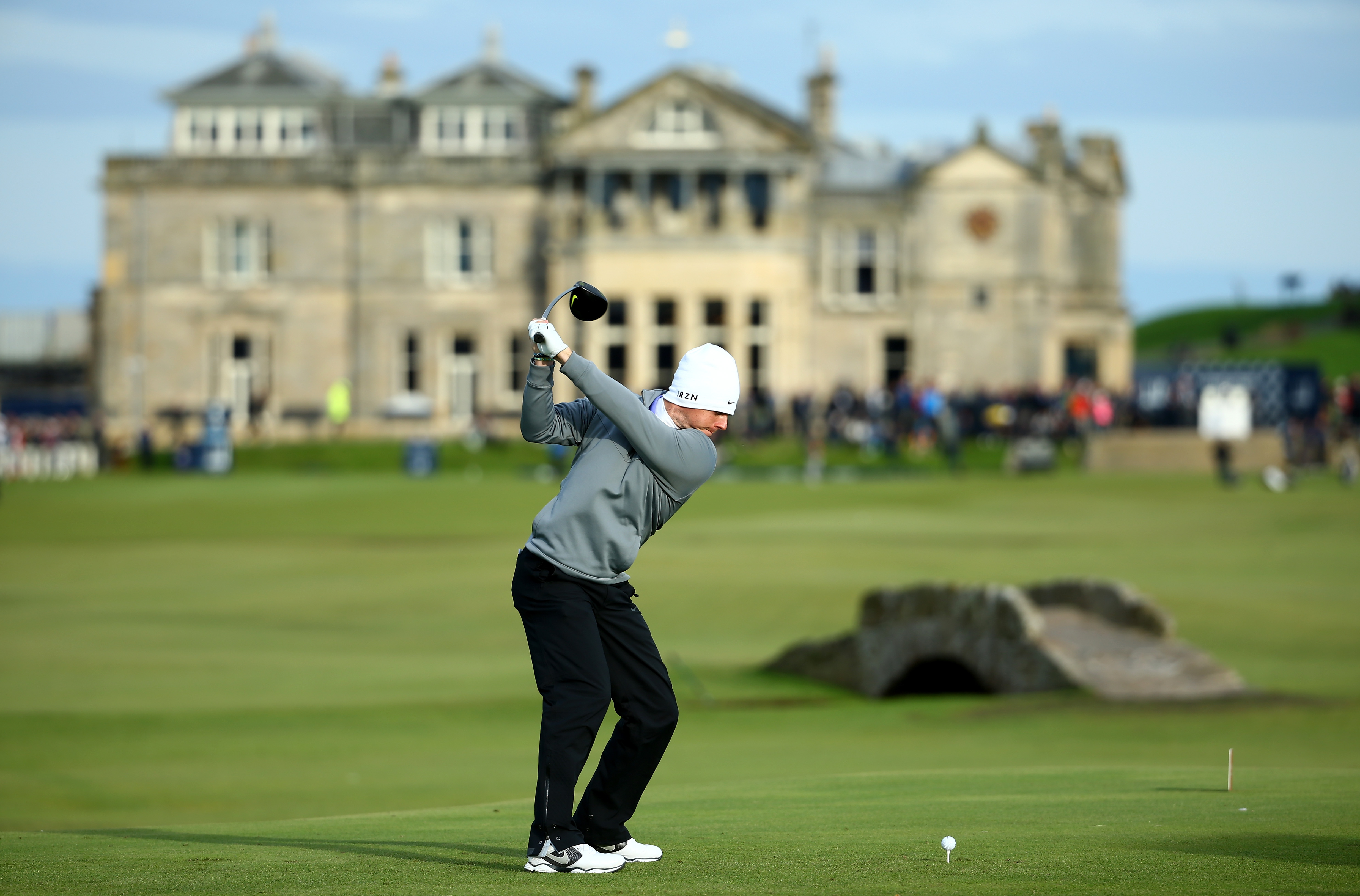 Rory McIlroy will hope to defend the Open at St Andrews (Photo: Getty Images)