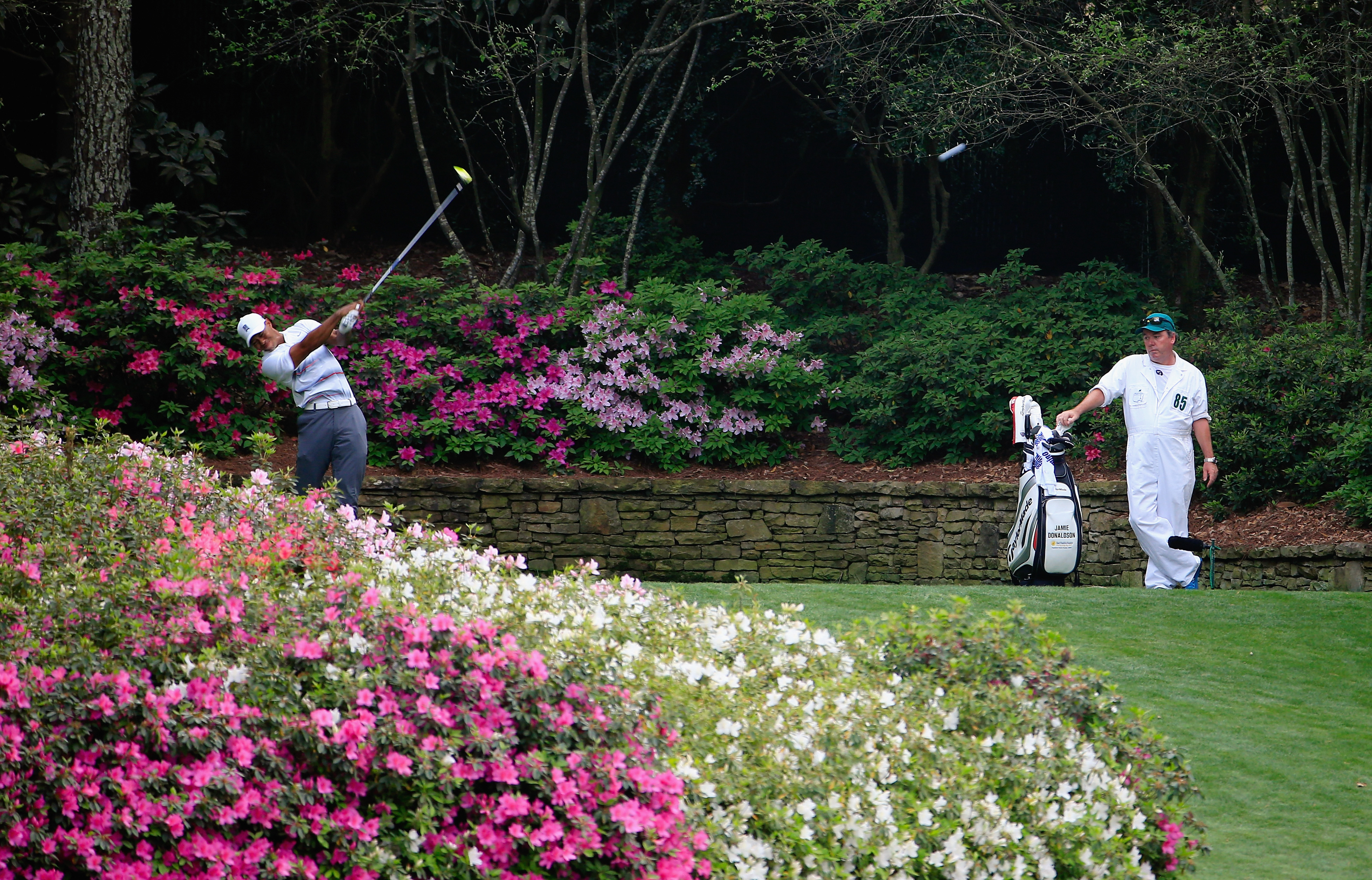 Woods struggled off the tee, especially in the final round (Photo: Getty Images)