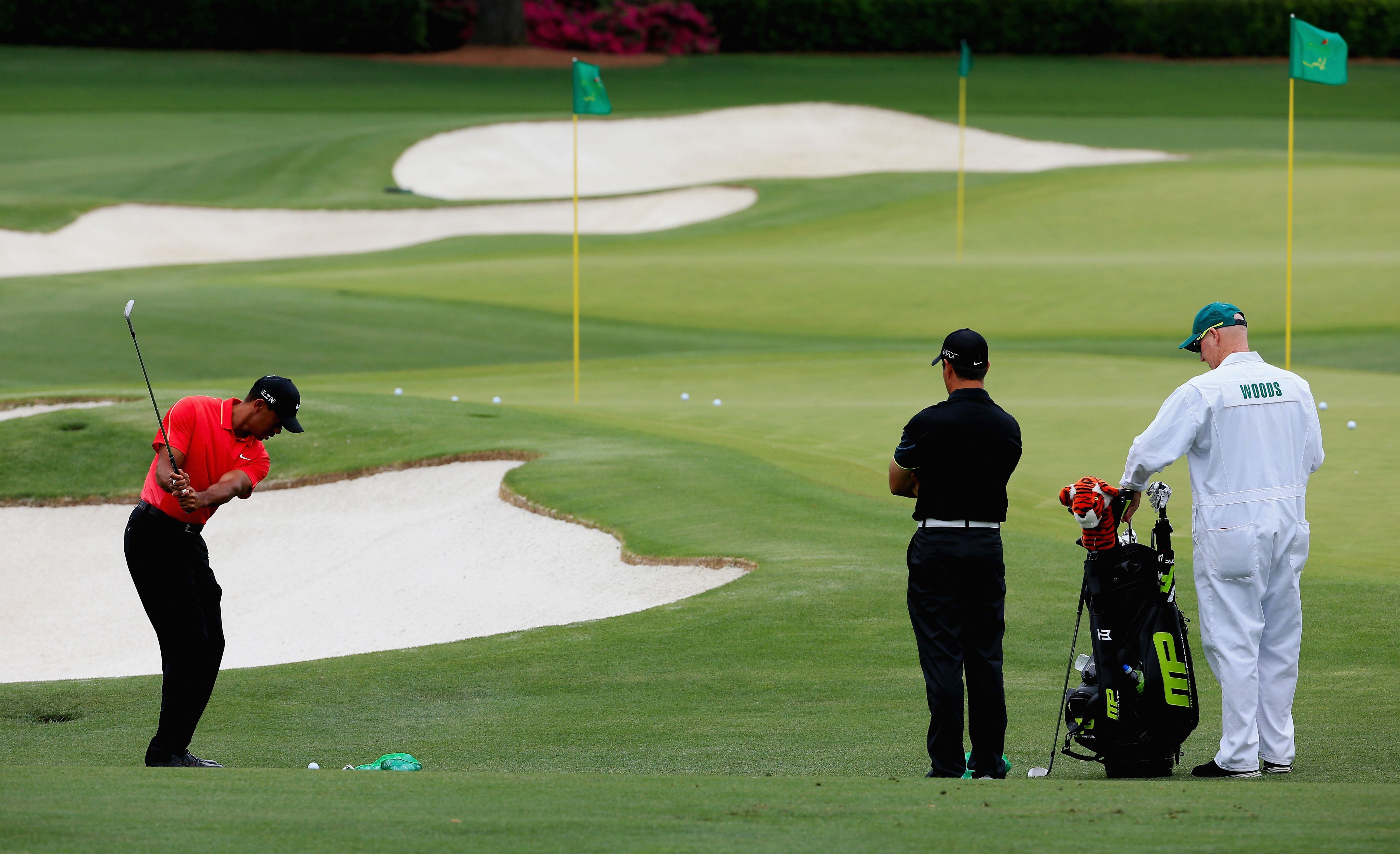 Woods's short game was a revelation at the Masters (Photo: Getty Images)