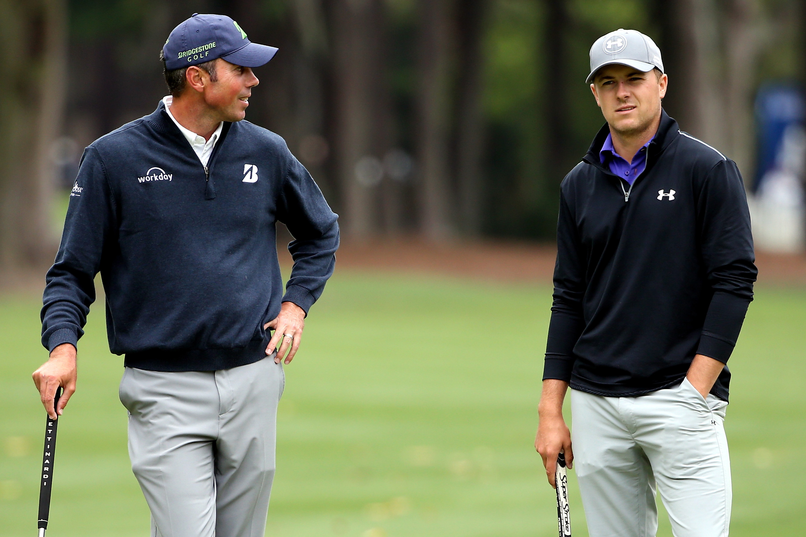 Jordan Spieth admits to getting his butt kicked by Matt Kuchar on day one (Photo: Getty Images)