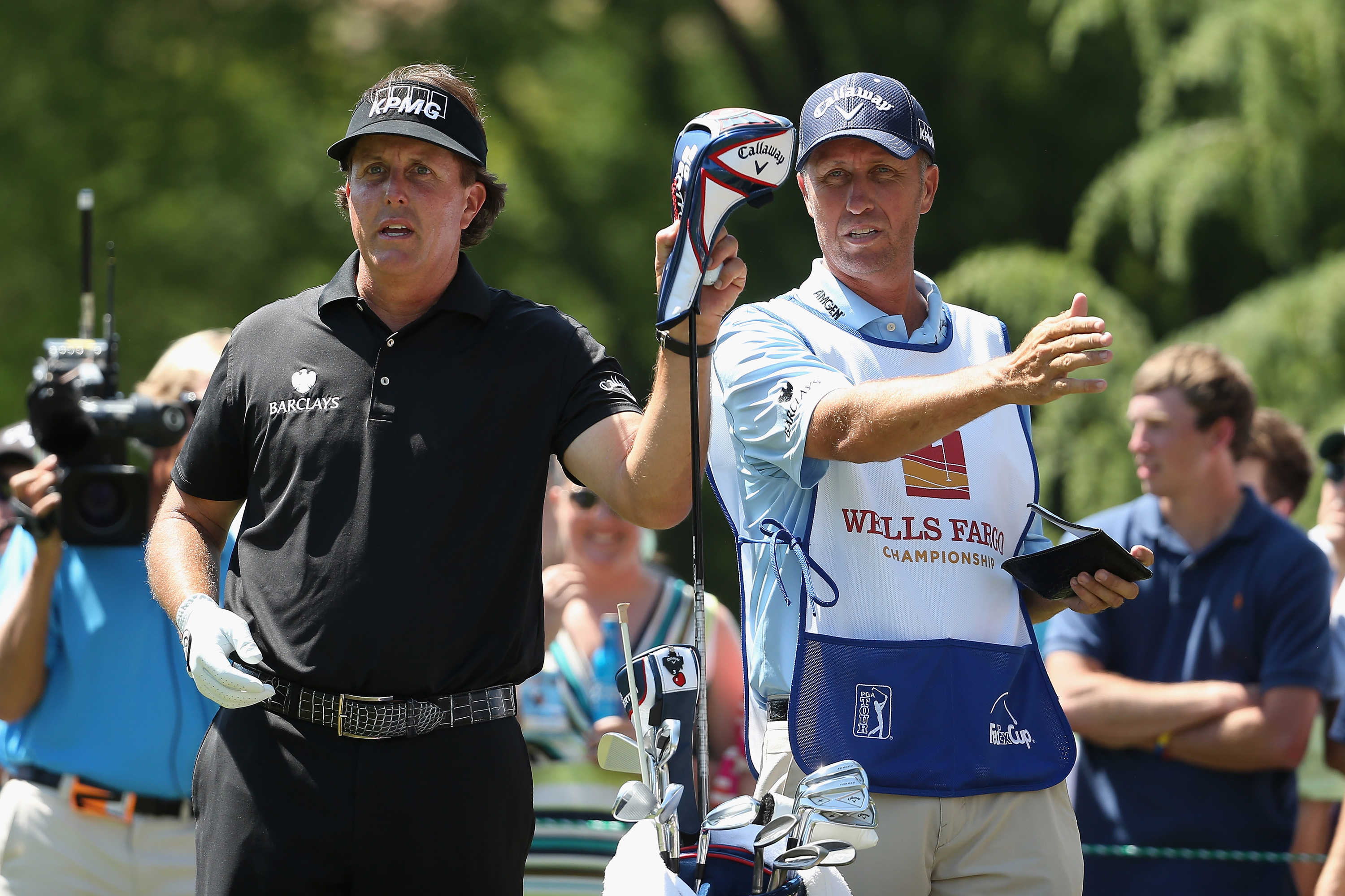 Phil Mickelson commits to the Wells Fargo Championship next month (Photo: Getty Images)