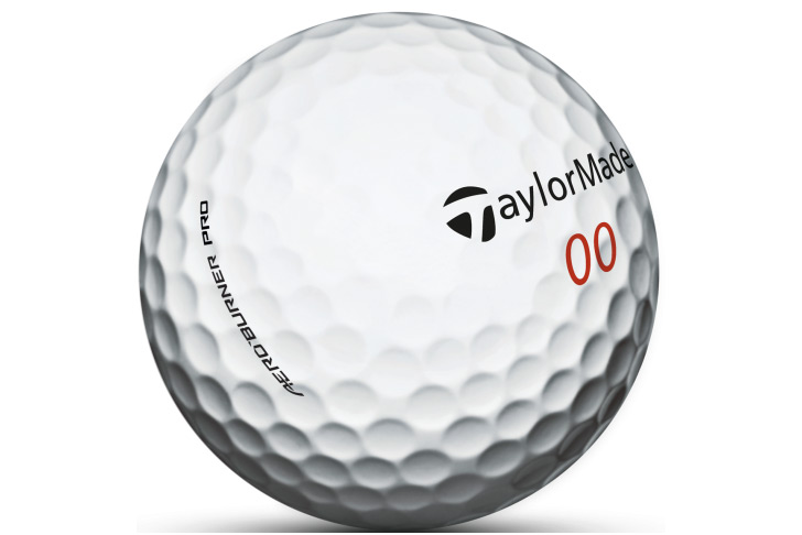 The 342 dimples on the AeroBurner Pro ball aid a high-launching, long and straight ball flight