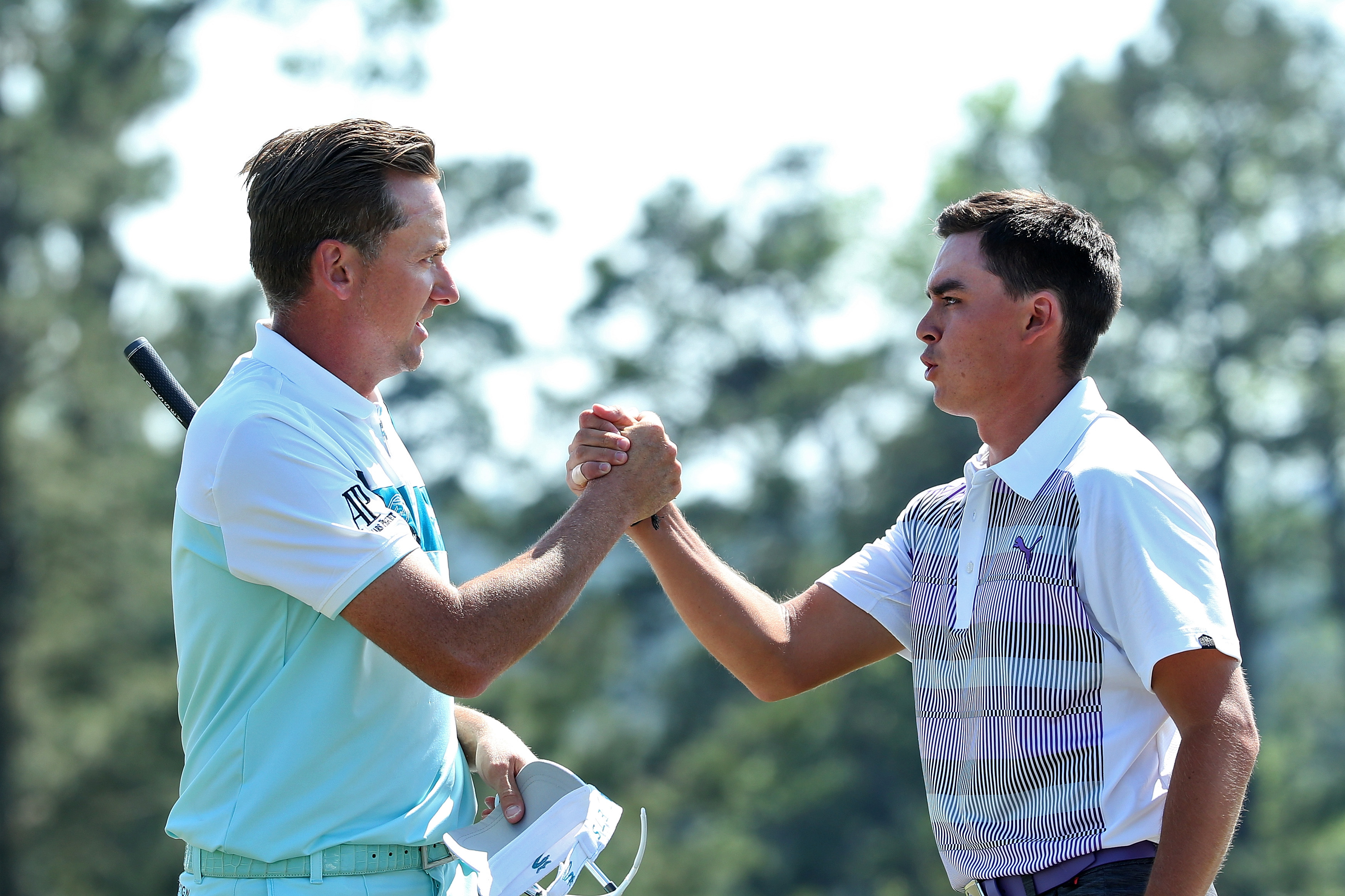 Fowler (right) is the world number 13, while Poulter is 30th (Photo: Getty Images)