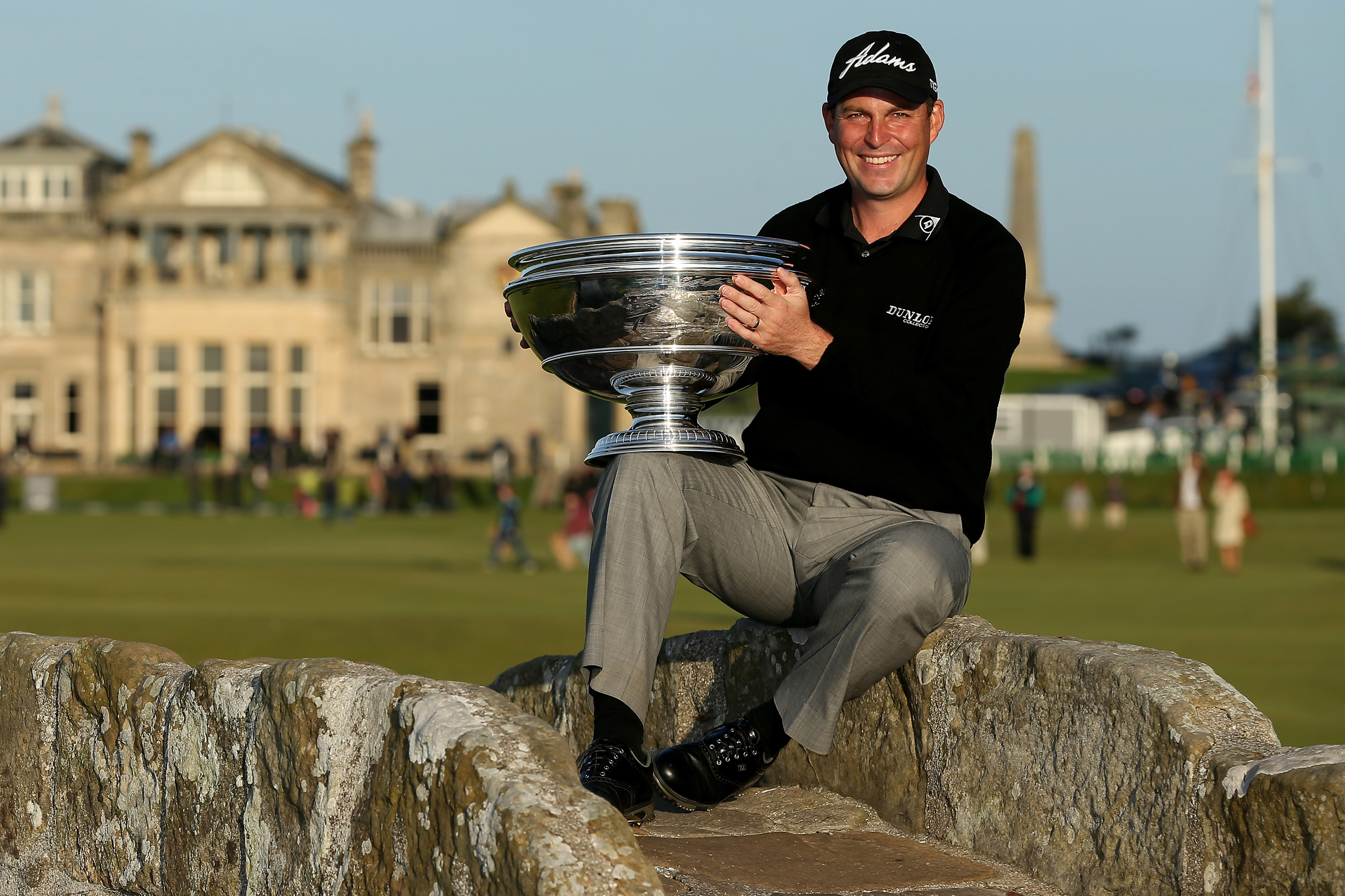 Howell won the Dunhill Links Championship at St Andrews in 2013 (Photo: Getty Images)