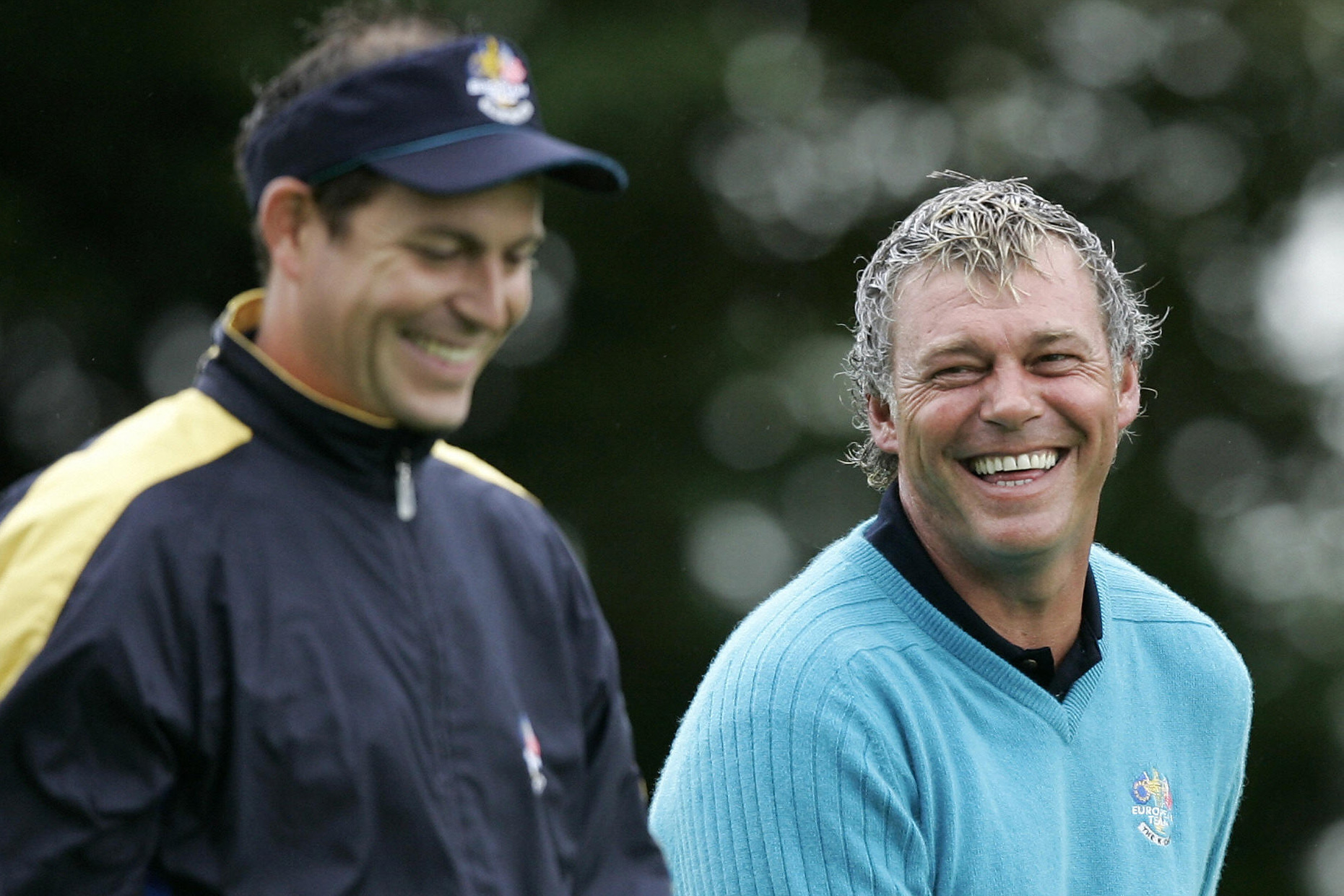 Howell and Clarke at the 2006 Ryder Cup (Photo: Getty Images)