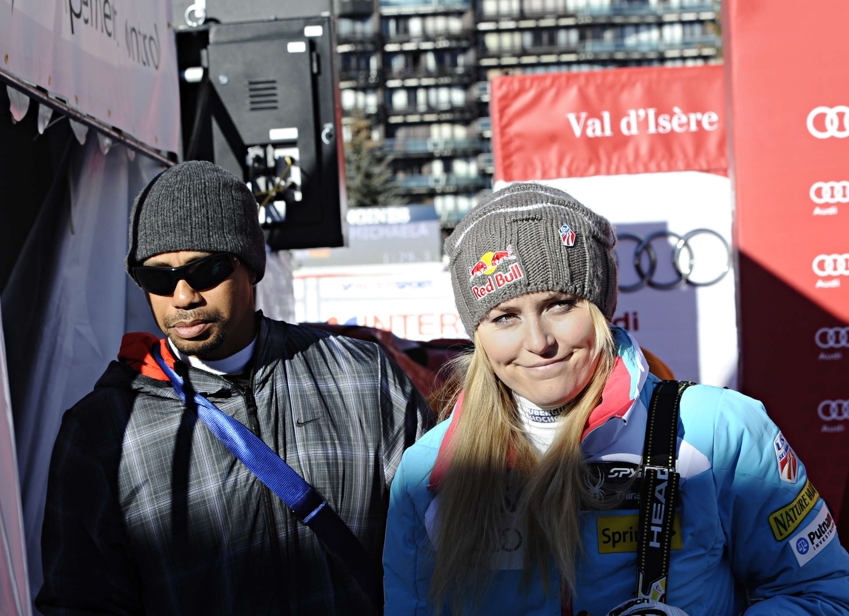 Woods recently announced his split from Lindsey Vonn (Photo: Getty Images)