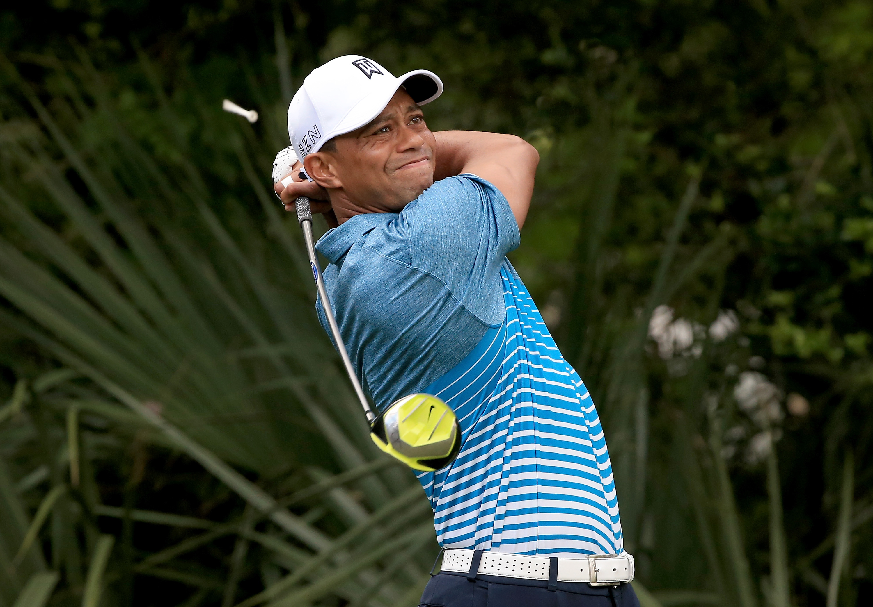Woods's last start was at the Masters where he finished tied 17th (Photo: Getty Images)