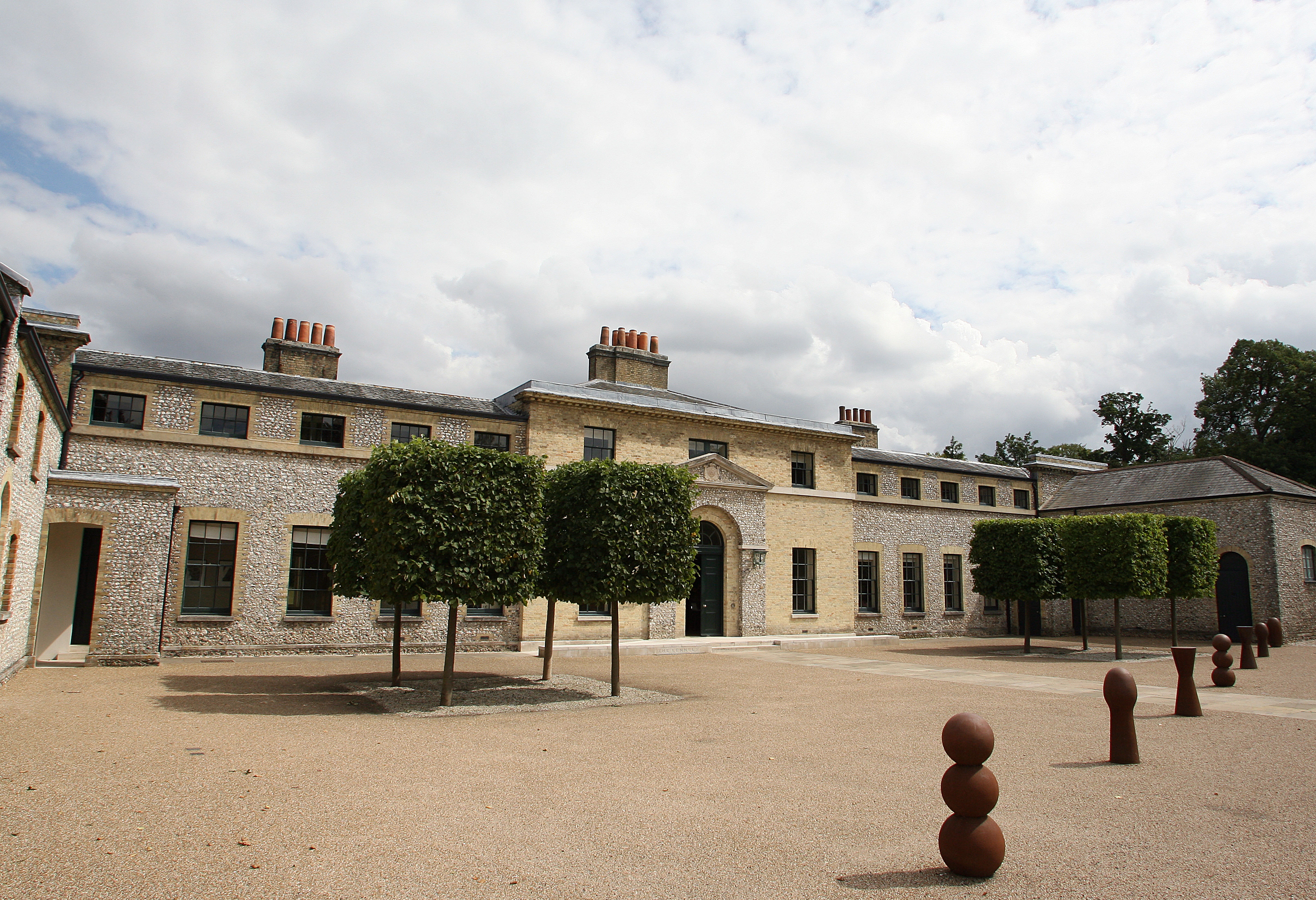 The Kennels is Goodwood's 18th century Georgian clubhouse (Photo: Getty Images)