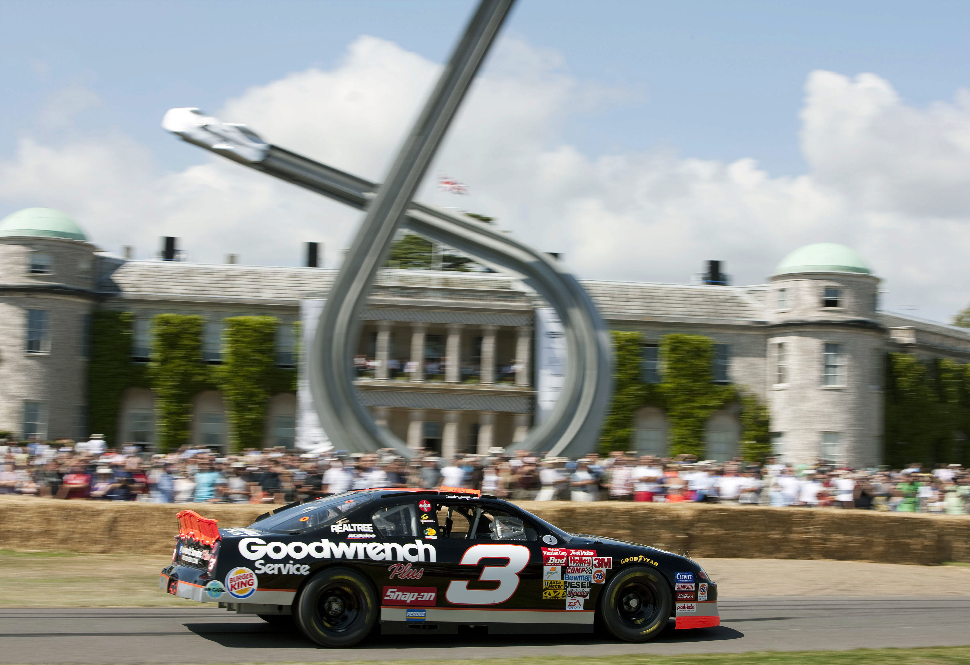 Goodwood's Festival of Speed is a fixture on the motor-racing calendar (Photo: Getty Images)