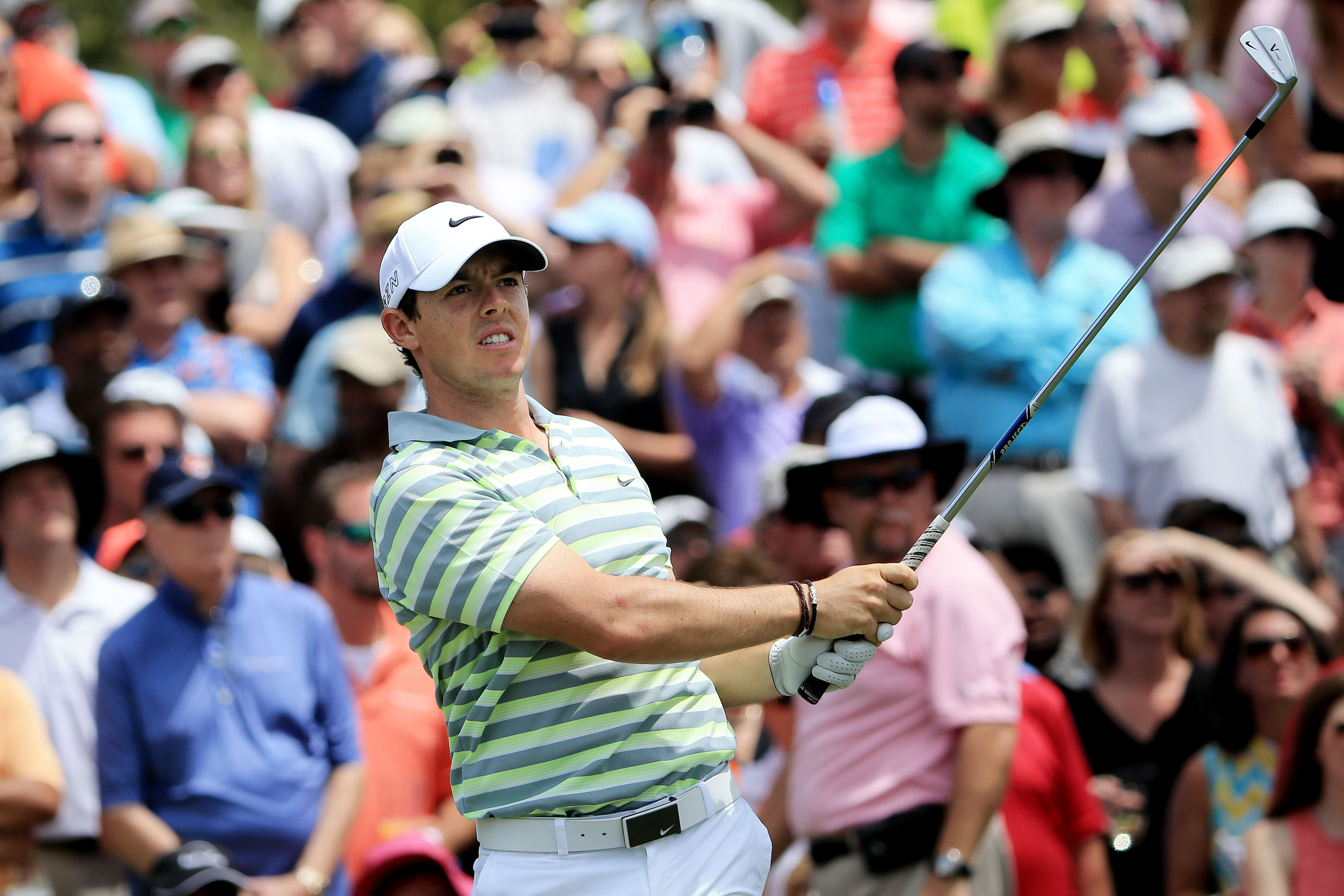 McIlroy, Woods and Nicklaus are the only players to win three majors before 26 (Photo: Getty Images)