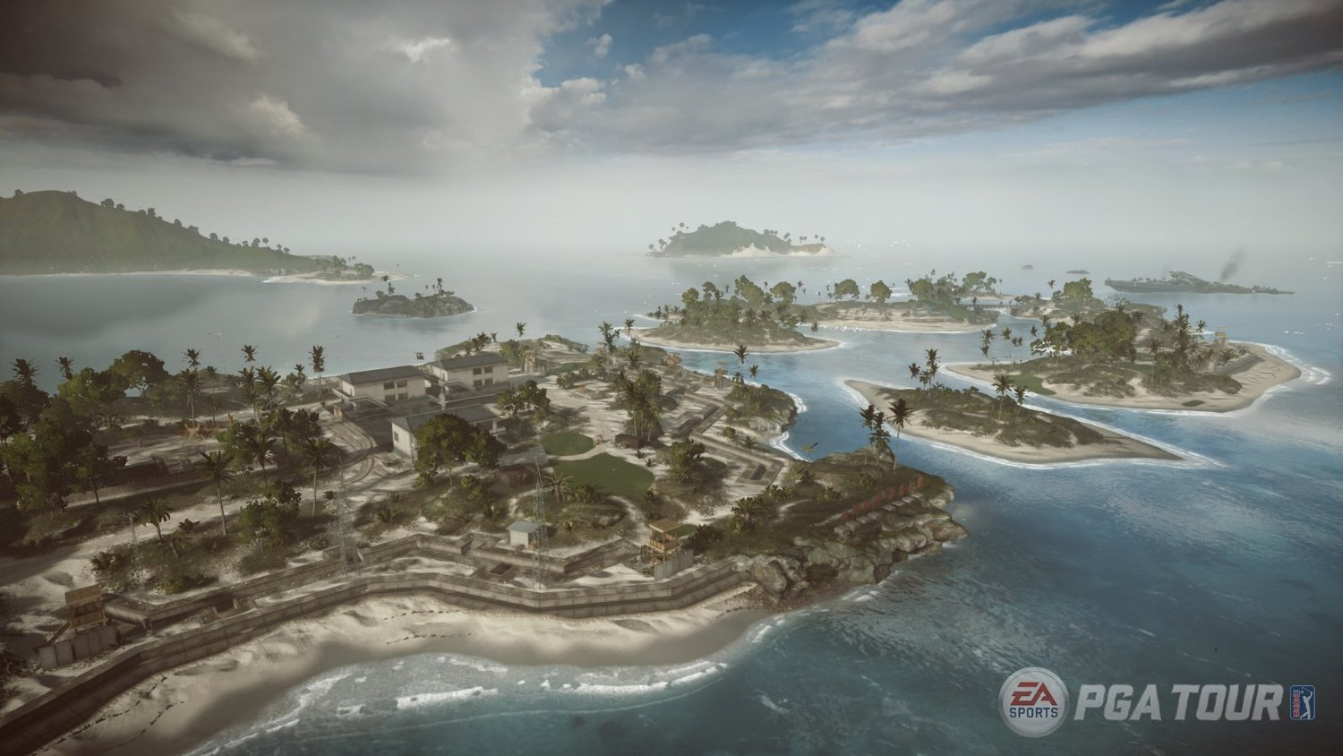 There are less courses to play this time around (Photo: EA Sports)