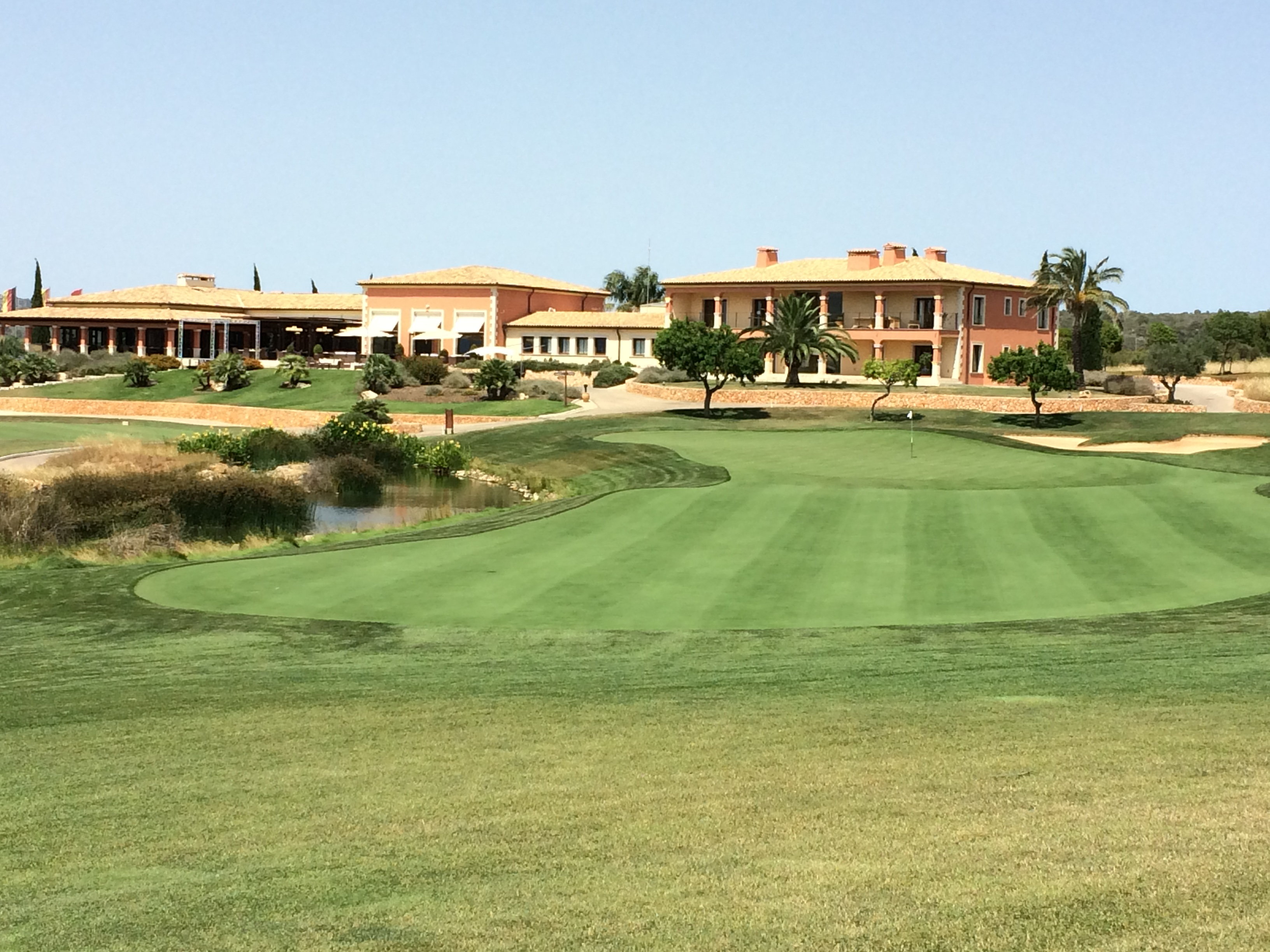 Son Gual features two loops of nine, both starting and finishing at the clubhouse