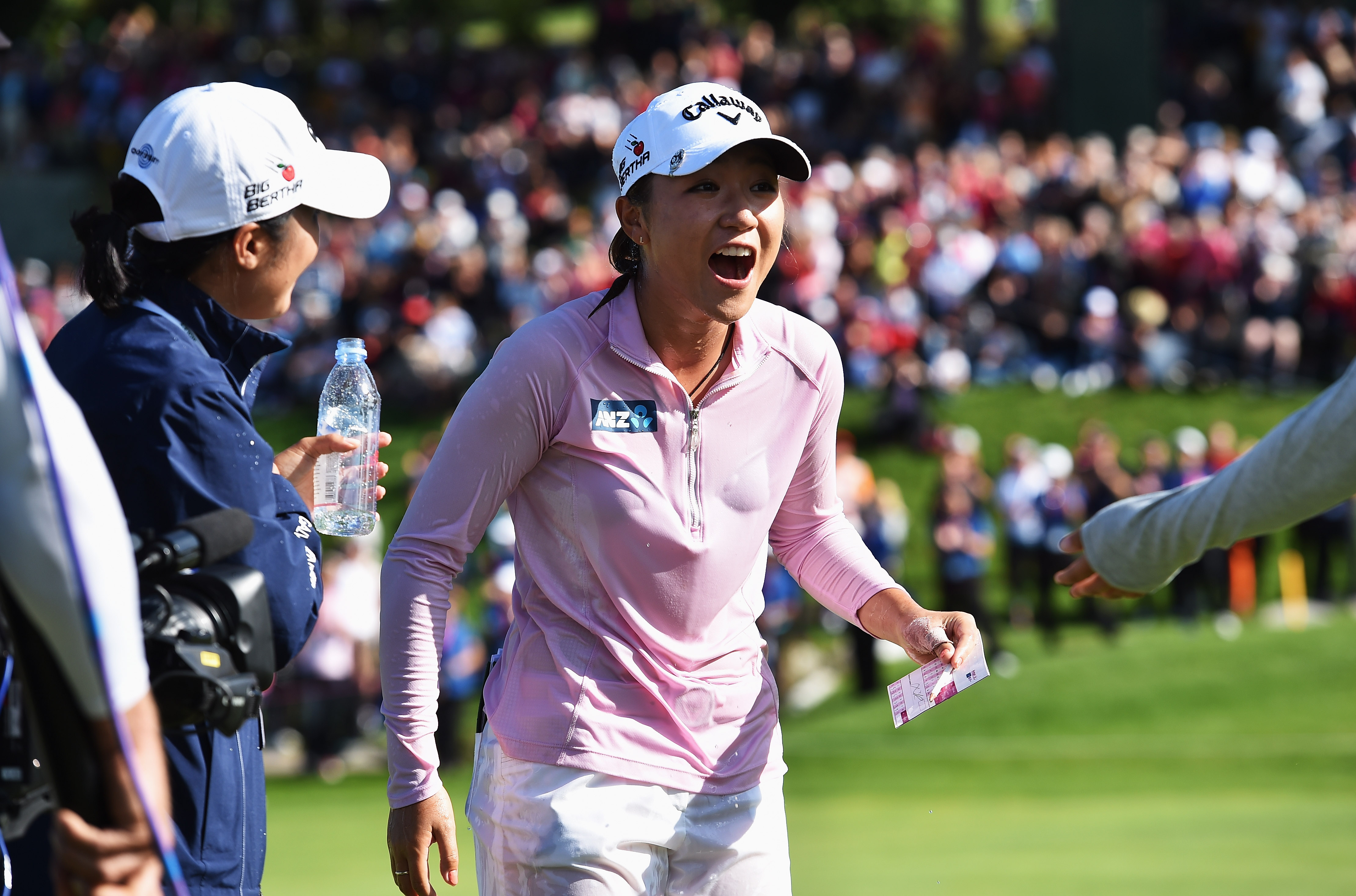 Ko was golf's youngest world number one when she topped the rankings at 17 (Photo: Getty Images)