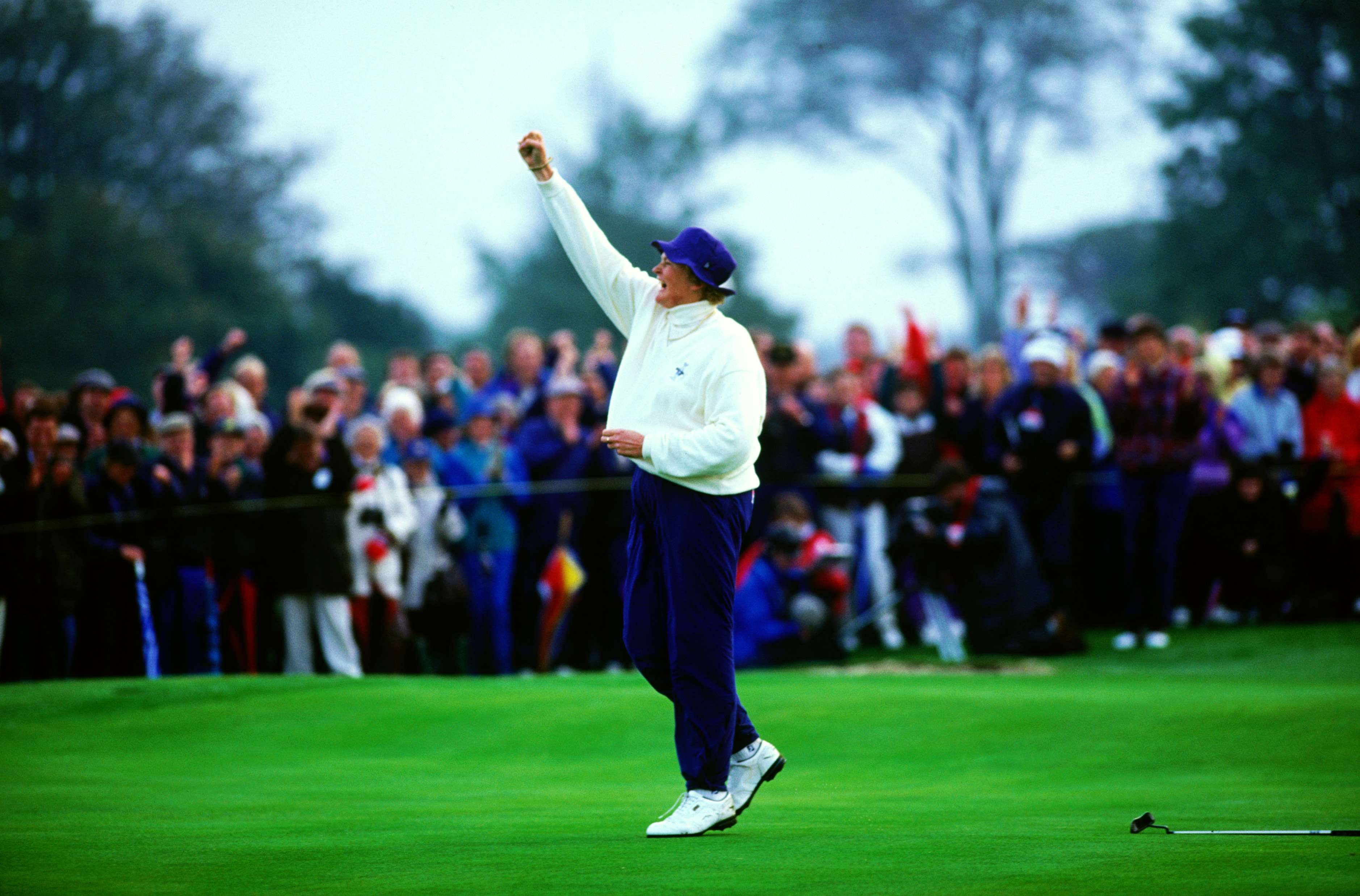 Laura Davies won all her matches in 1992 (Photo: Getty Images)