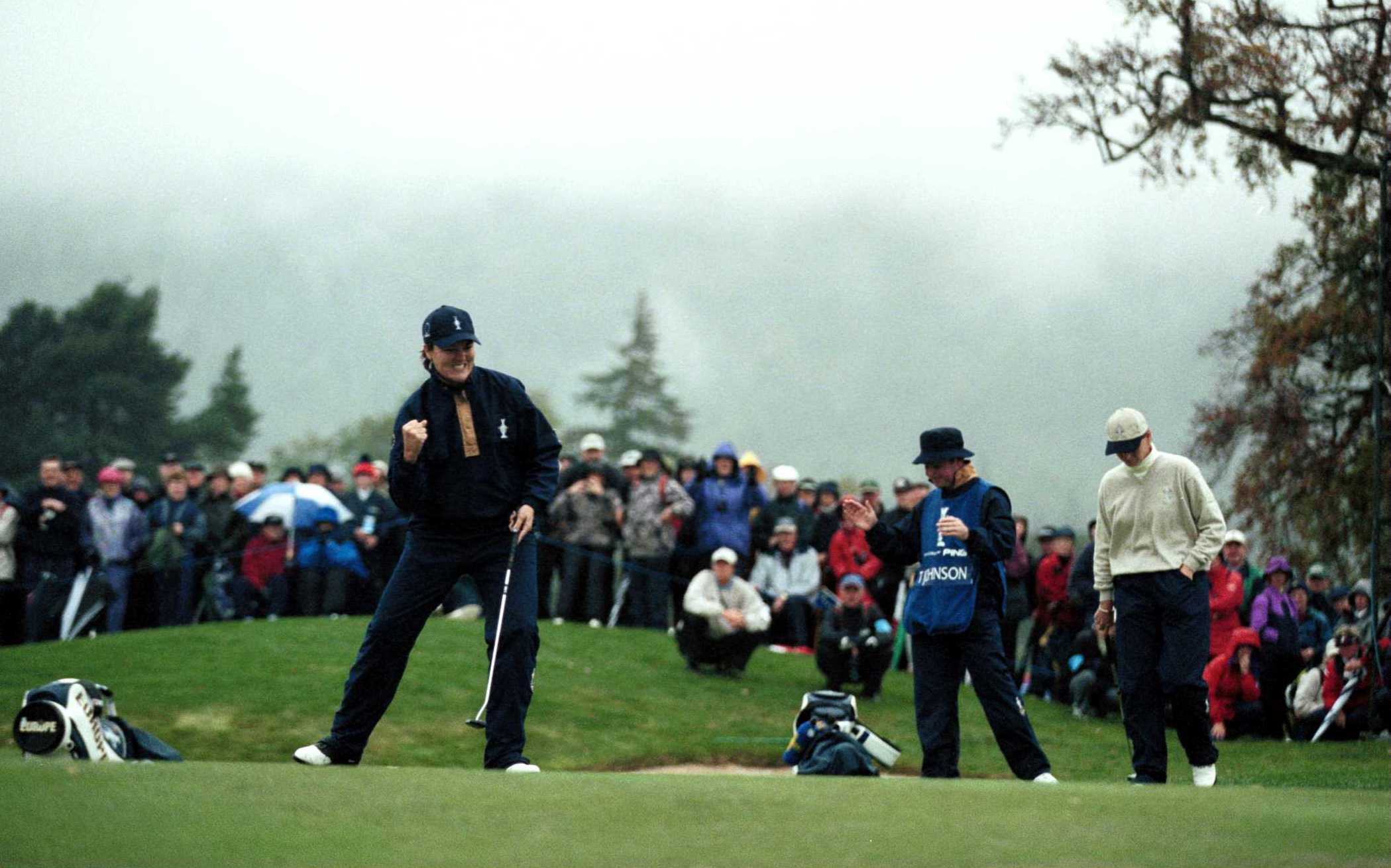 Europe avoided losing four in a row at Loch Lomond (Photo: Getty Images)
