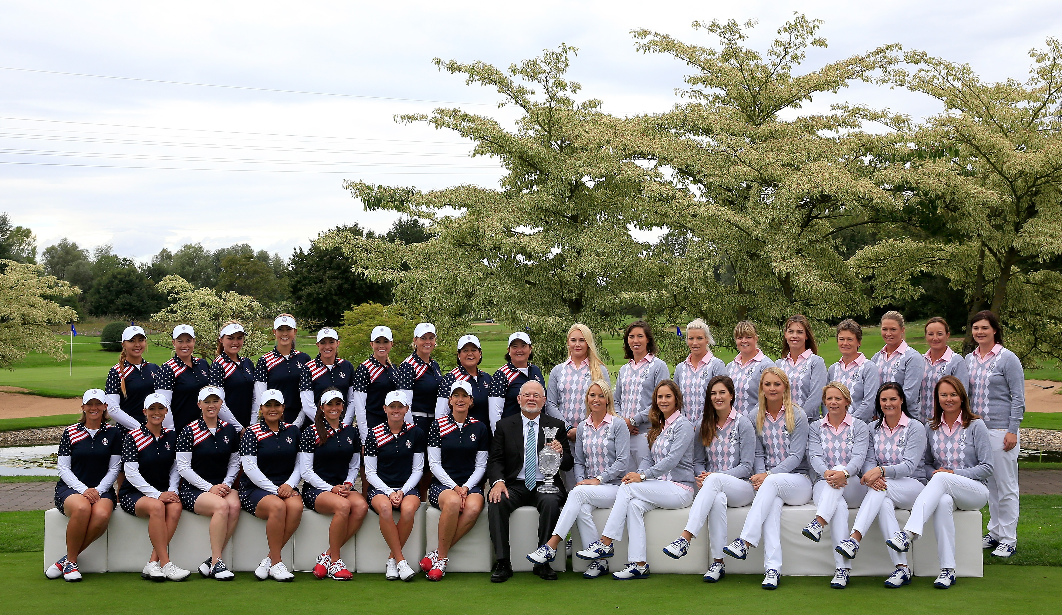Europe will hope to win the Solheim Cup for the third time in a row in Germany (Photo: Getty Images)