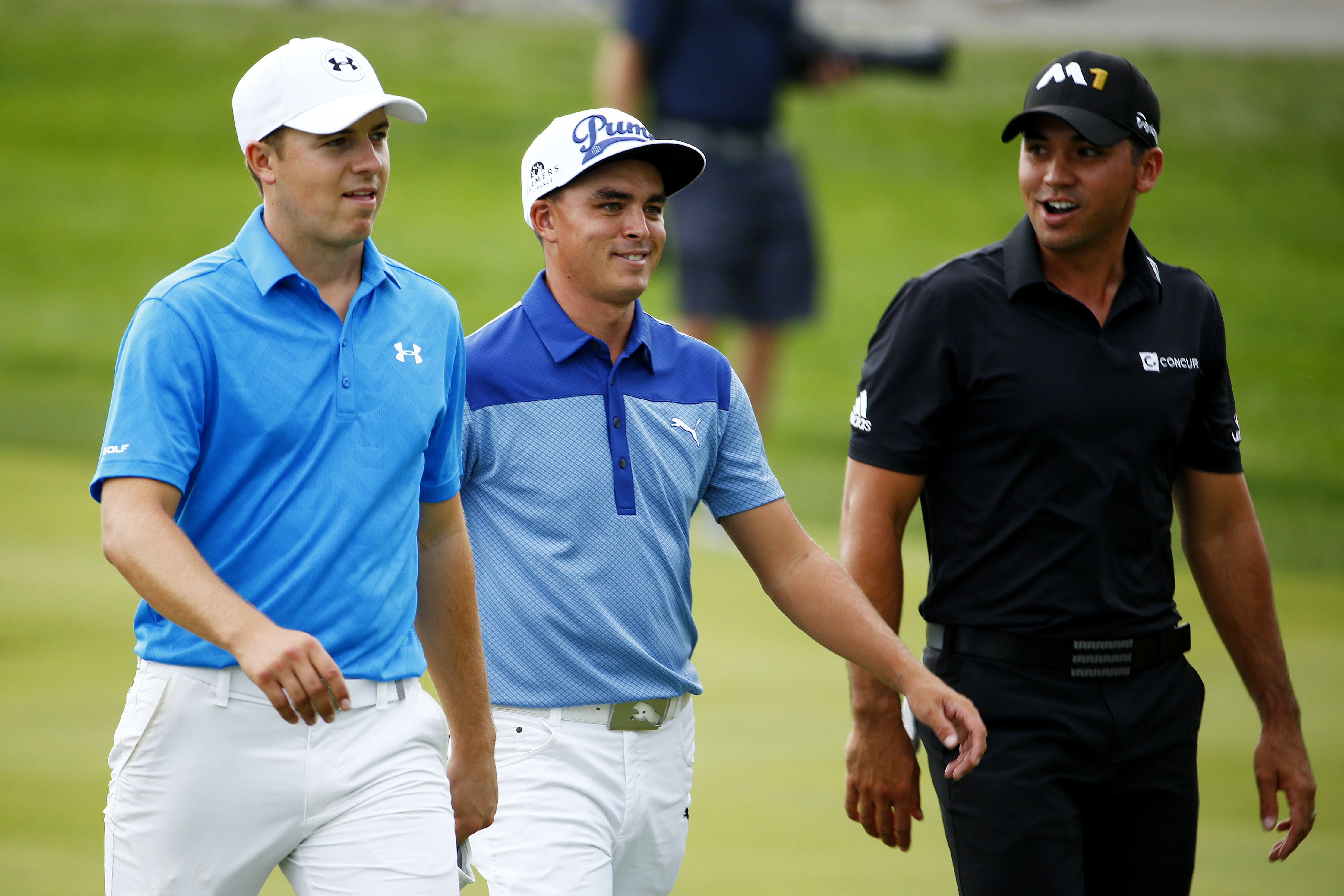 Spieth, Fowler and Day played together at Conway Farms (Photo: Getty Images)