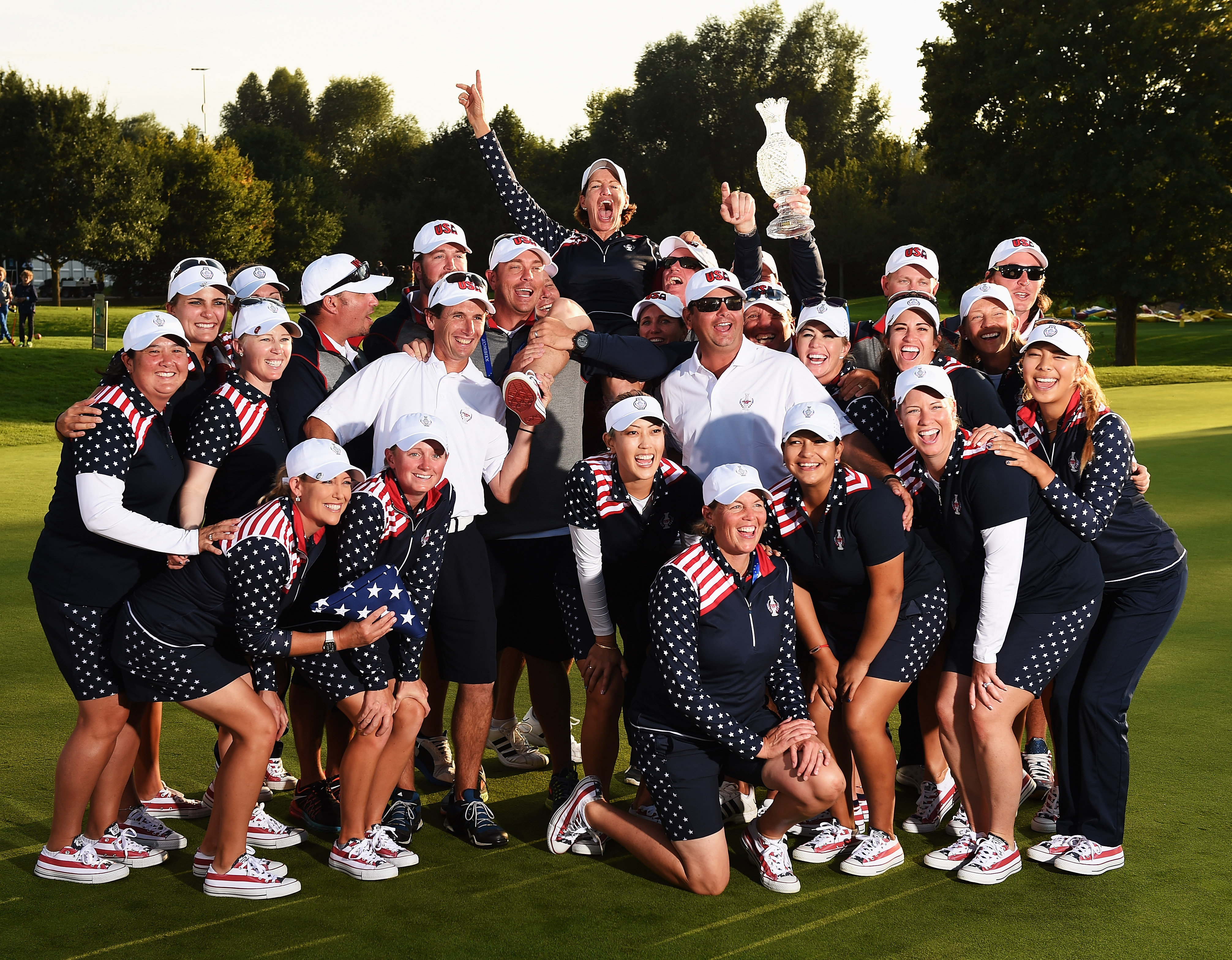 Inkster thought the pod system would help her team gel (Photo: Getty Images)