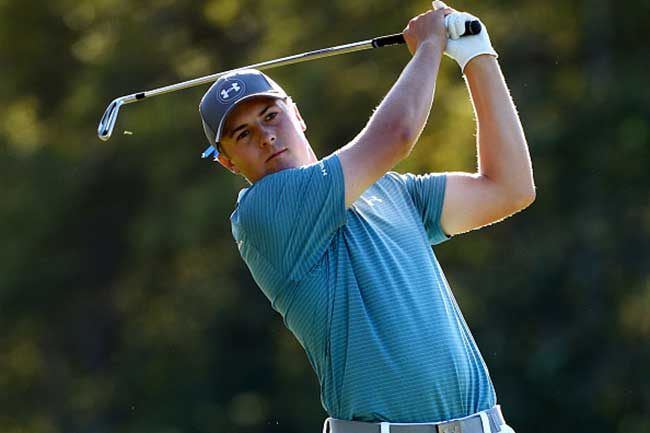 Jordan Spieth has won four times on the PGA Tour in 2015, including two majors (Photo: Getty Images)