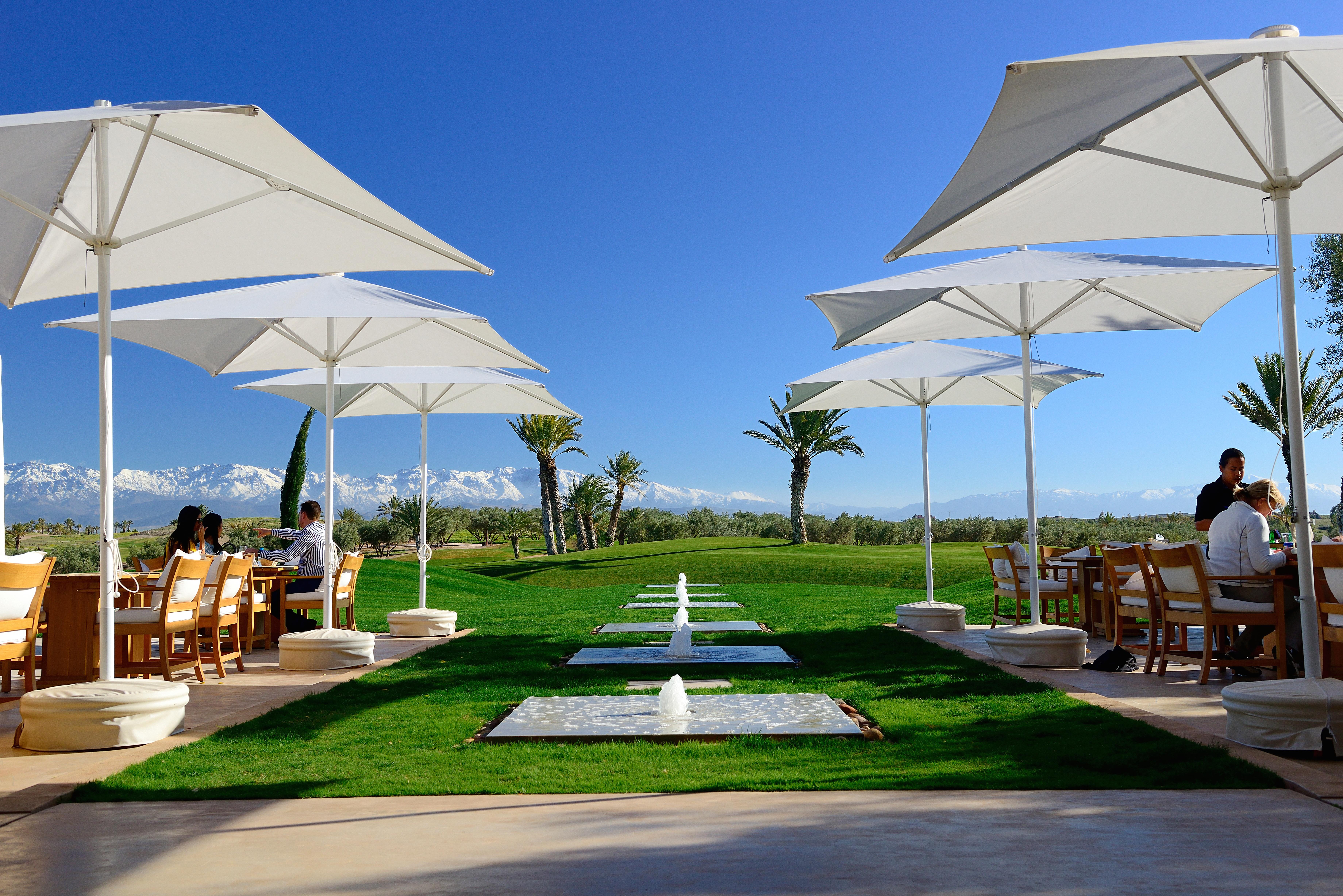 Assoufid's terrace offers a stunning spot to soak up the views