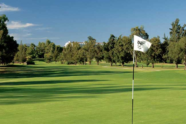 The 17th at Penina's Sir Henry Cotton Championship Course