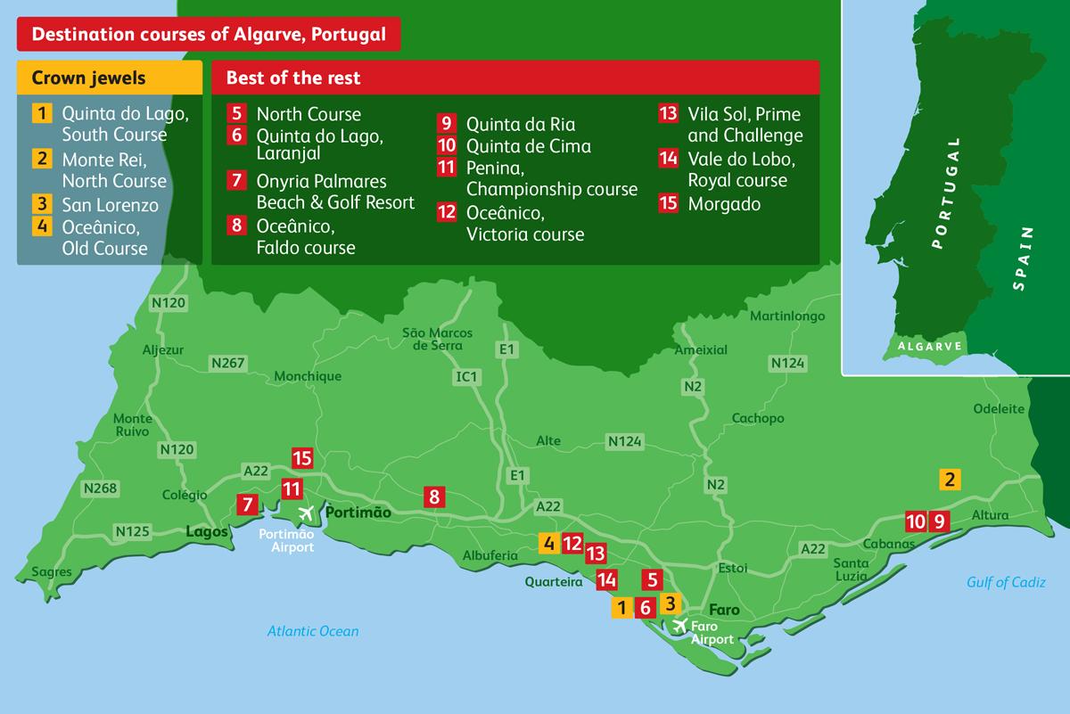 Portugal's Algarve is one of Europe's premier golf destinations