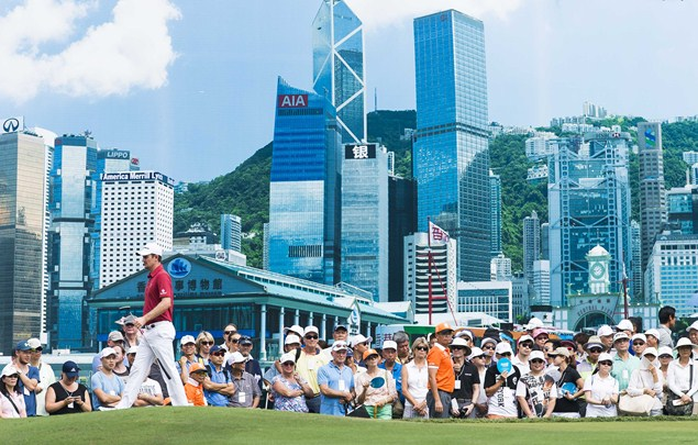 Hong Kong provides urban backdrop for Justin Rose's latest triumph (Photo: Victor Fraile/Getty Images)