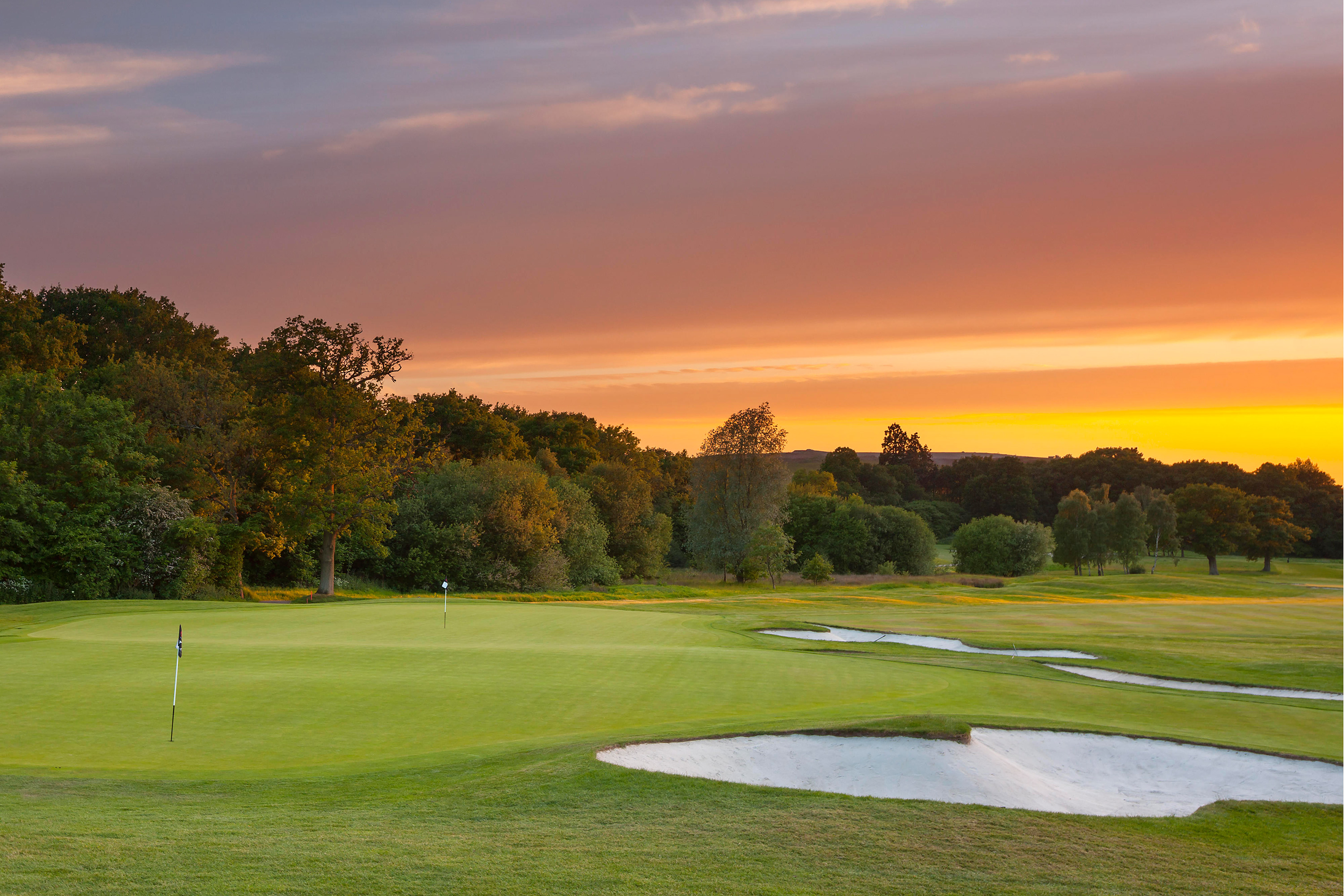 The stunning Donald Steel-designed Arden Championship Course at Forest of Arden