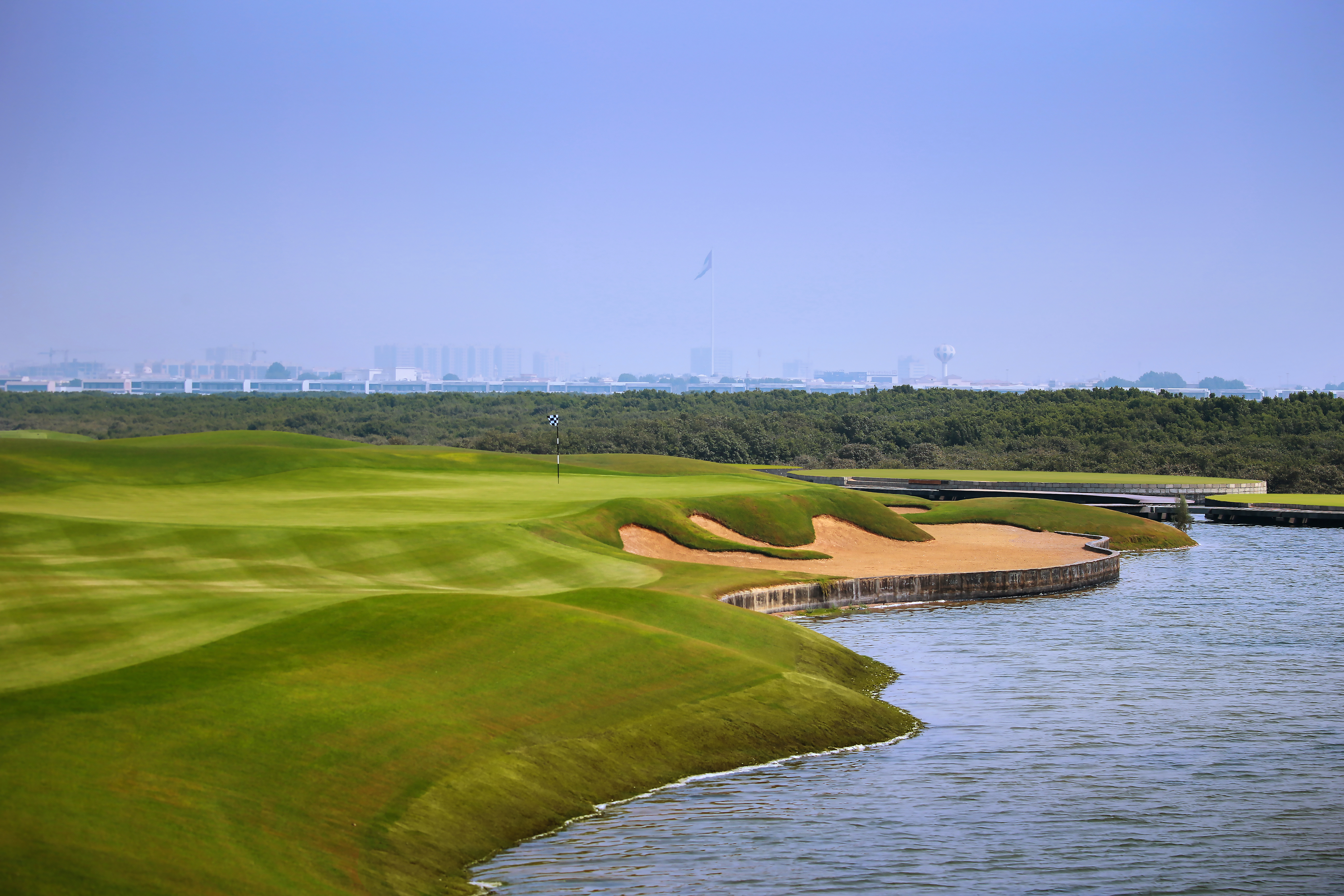 Al Zorah is Ajman's first golf course