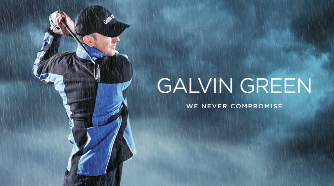 Galvin Green dominates Europe's giant golf rainwear market