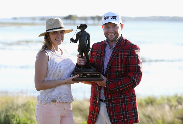 Branden Grace claimed his maiden PGA Tour title at the RBC Heritage (Photo: Getty Images)