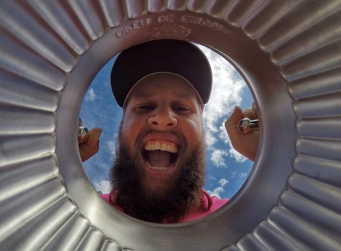 "Andrew Johnston, nicknamed ""Beef"", was rather excited after his Spanish Open win (Photo: Getty Images)"