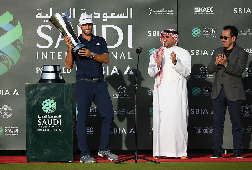 Dustin Johnson and Brooks Koepka commit to controversial Saudi event