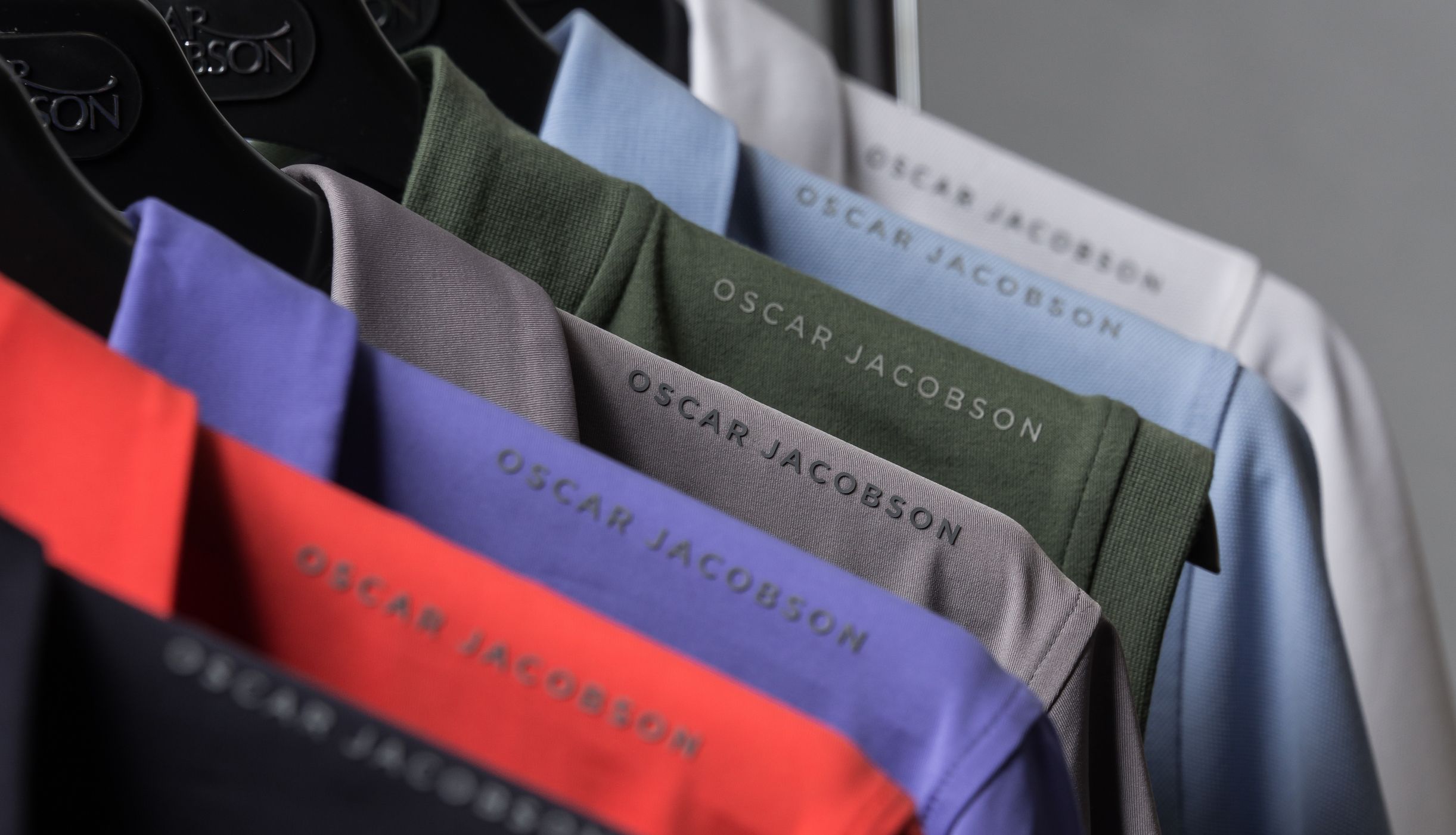 Oscar Jacobson launch 2018 SS collection