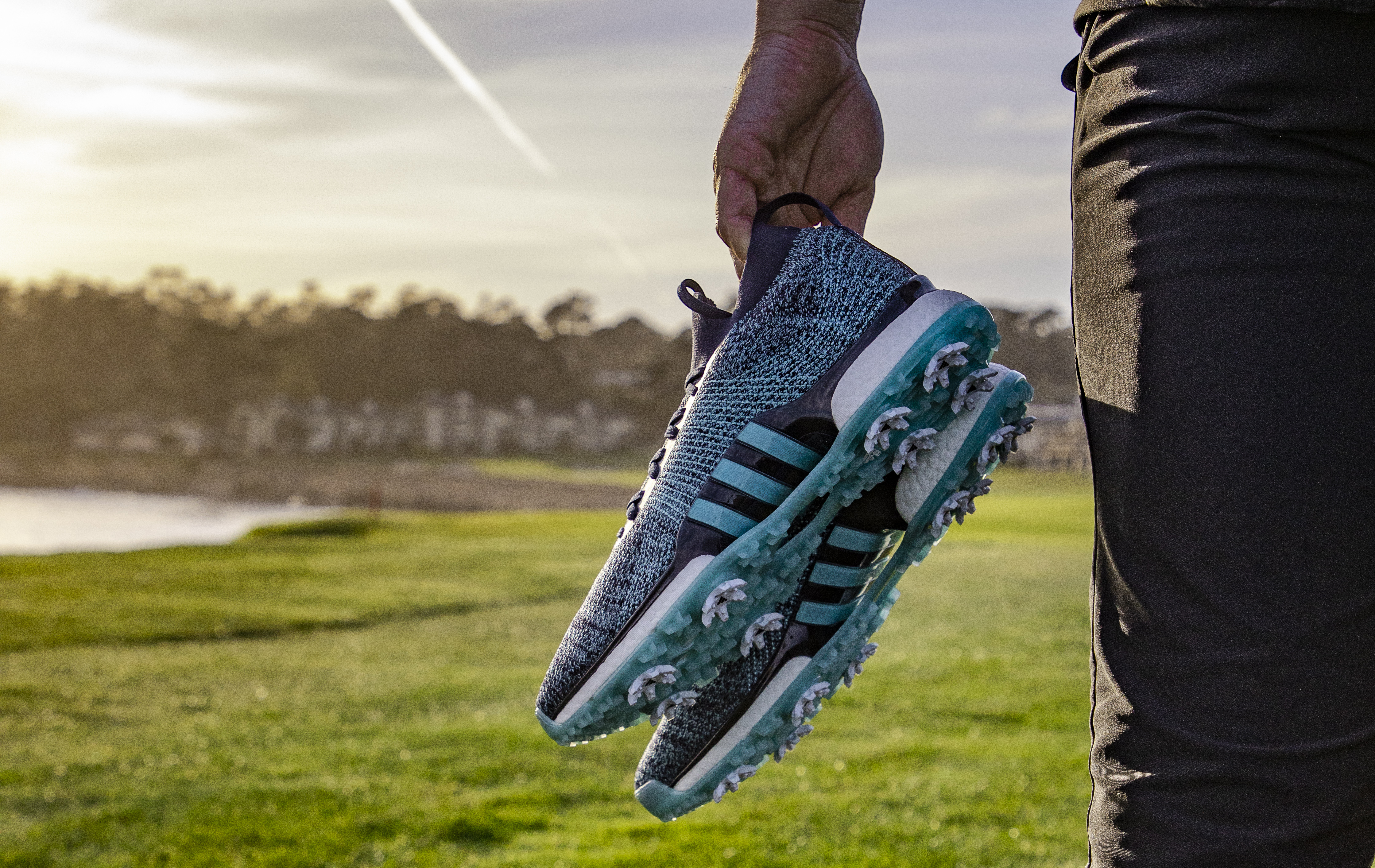adidas Golf unveils first ever golf shoe made from upcycled