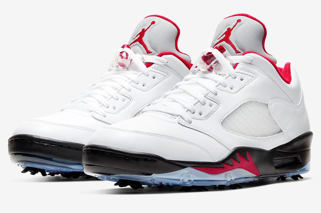 Nike Air Jordan 5 Low Golf Fire Red