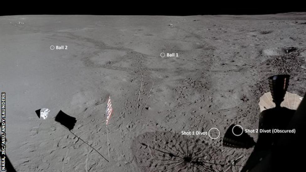 REVEALED! How far astronaut Alan Shepard really hit a golf ball on the moon - Golfmagic.com