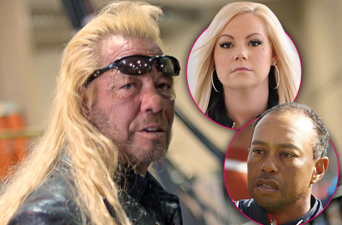 Tiger Woods' ex rescued from Vegas drug den by 'Dog The Bounty Hunter'