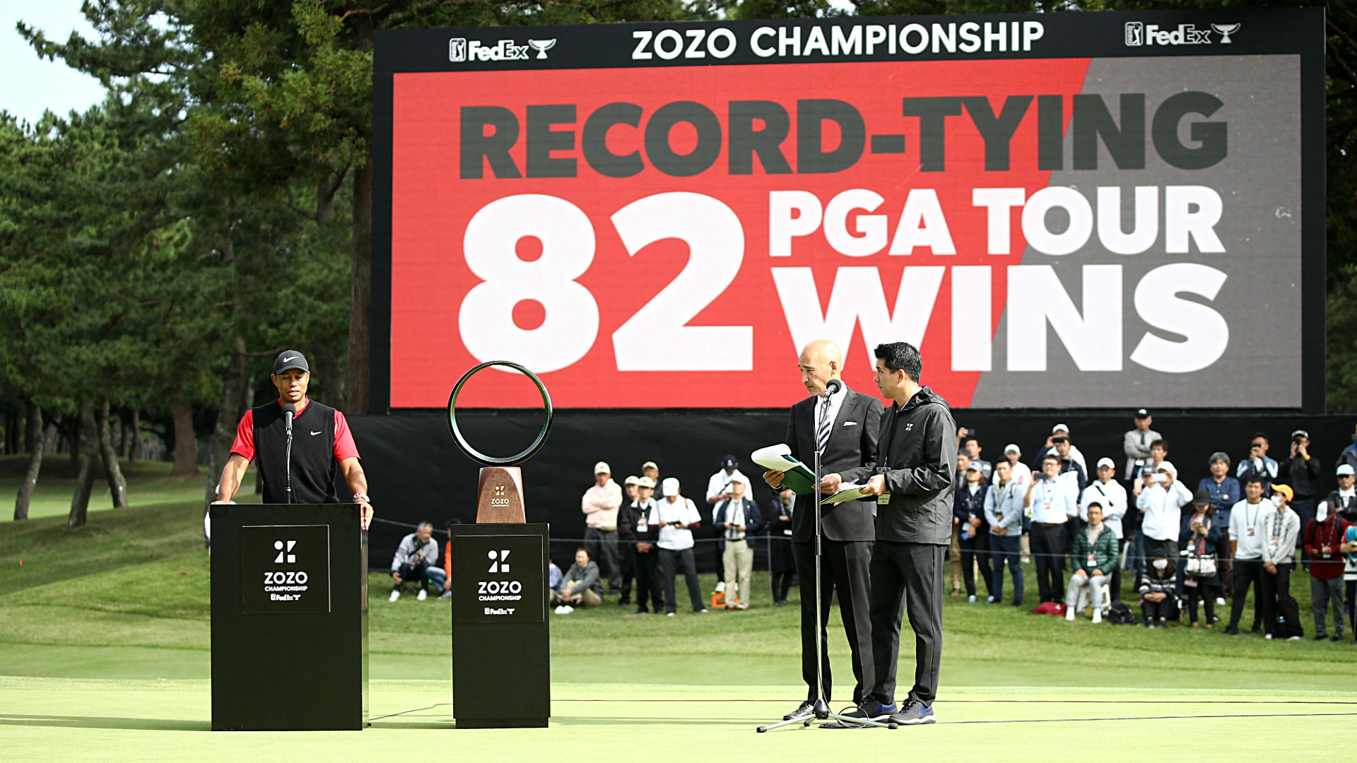 Pga Money List 2020.How Much Tiger Woods And Every Player Won At The Zozo