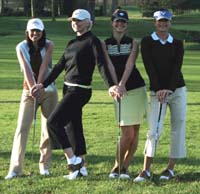 Callaway and Nike's gear for the girls