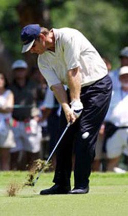 golf tip by nick faldo