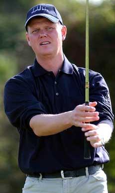 Steve's golf experience of a lifetime
