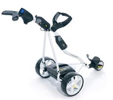 powered golf trolley