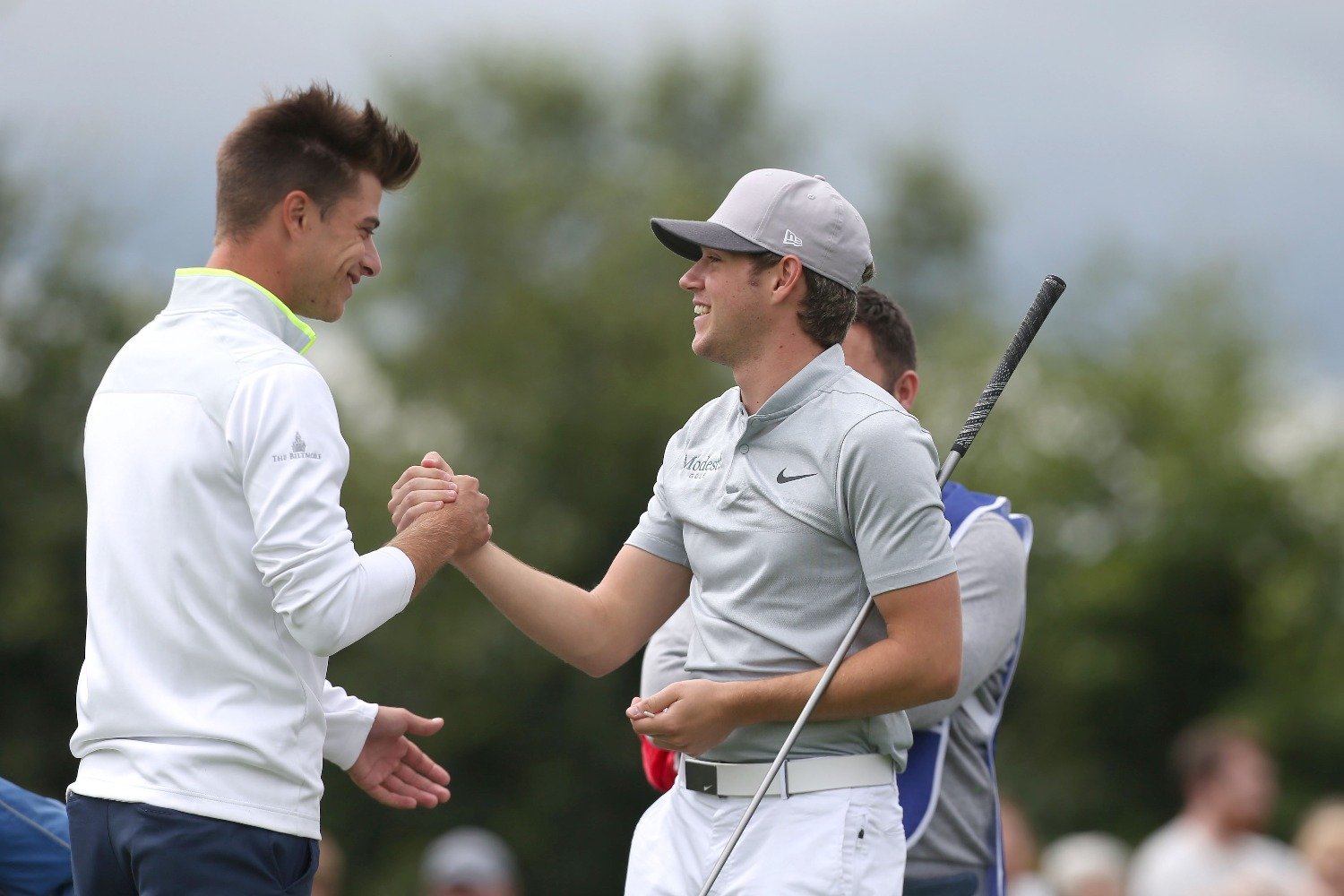 EXCLUSIVE! Niall Horan talks to GM about Modest! Golf and Galvin Green