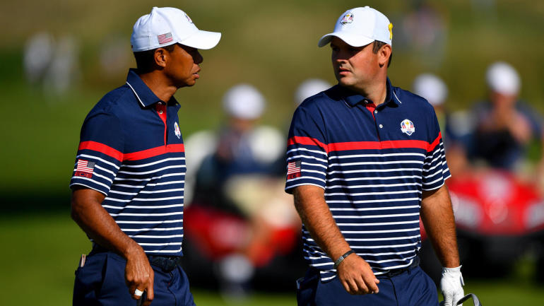 """Patrick Reed knew """"weeks in advance"""" he'd be paired with Tiger Woods"""