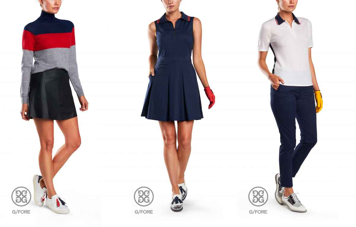 G/FORE reveal women's apparel line for