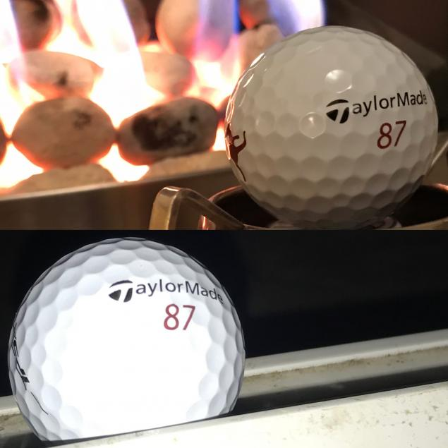 Hot vs Cold golf balls test using Jason Day's TaylorMade TP5x balls