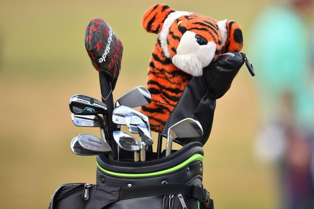 Woods bags new GAPR 2-iron at Carnoustie