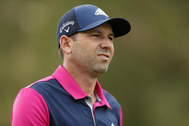 WATCH: Sergio Garcia reveals a new way to tee up your golf ball!