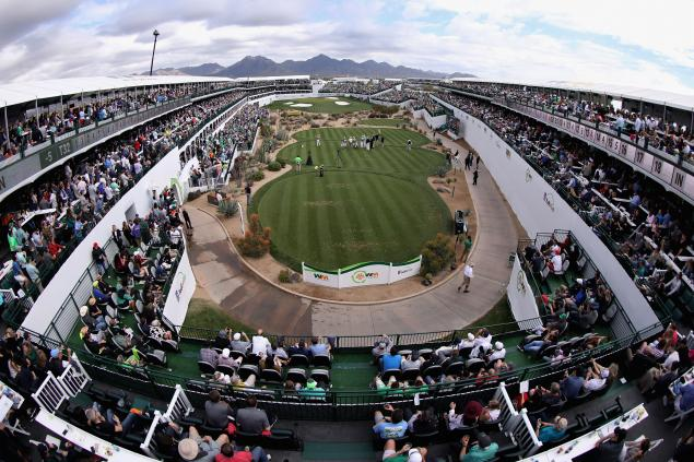 PXG golf clubs stolen by thief on 16th hole at Phoenix Open...